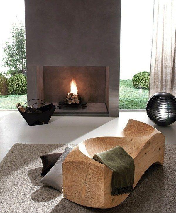 Die besten 25+ Einbaukamin Ideen auf Pinterest Gardinen - luxus wohnzimmer modern mit kamin