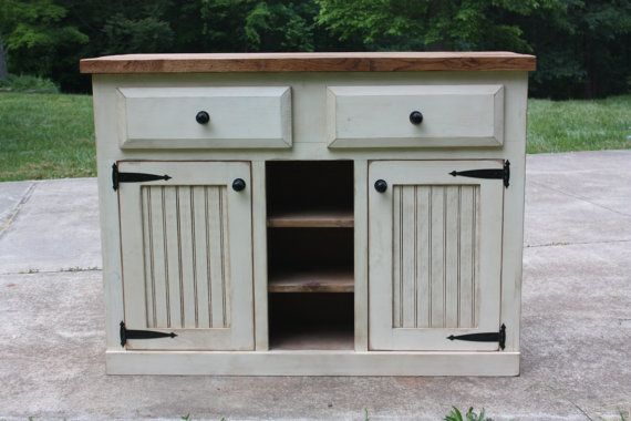 Island, Kitchen, Workcenter, Bar, FREE SHIPPING, Distressed, Rustic, Primitive, Shabby, Cottage, Chic