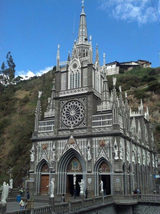 Santuario de Las Lajas en Ipiales, Nariño