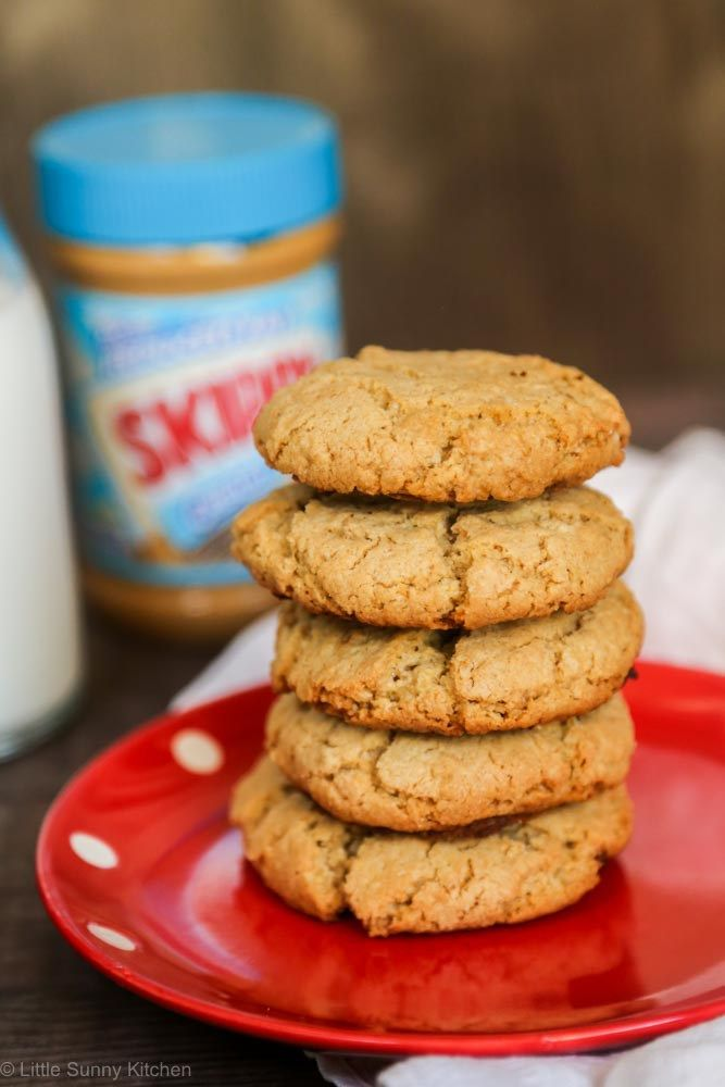 SKIPPY® Best Ever Peanut Butter Oatmeal Cookies