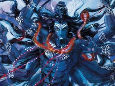 And while I borrow unashamedly from Liquid Comics - here's my GODly image for the day. Shiva himself!