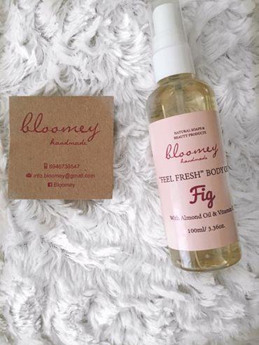 #review2 Bloomey handmade- body oil #beauty #bodyoil