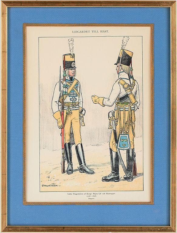 The light dragoon corps 1795-1806 by Einar von Strokirch
