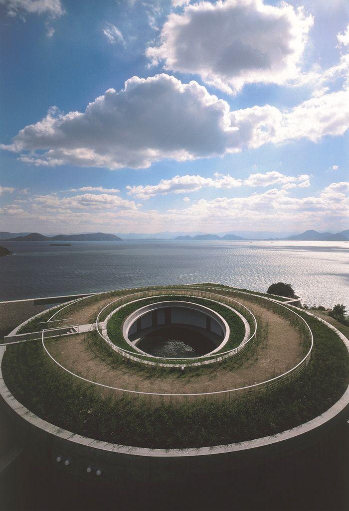 Tadao Ando à Naoshima, Benesse House Oval © Tomio Ohashi