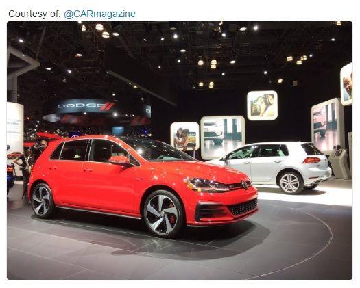 2018 VW Golf Updates @ New York Auto Show