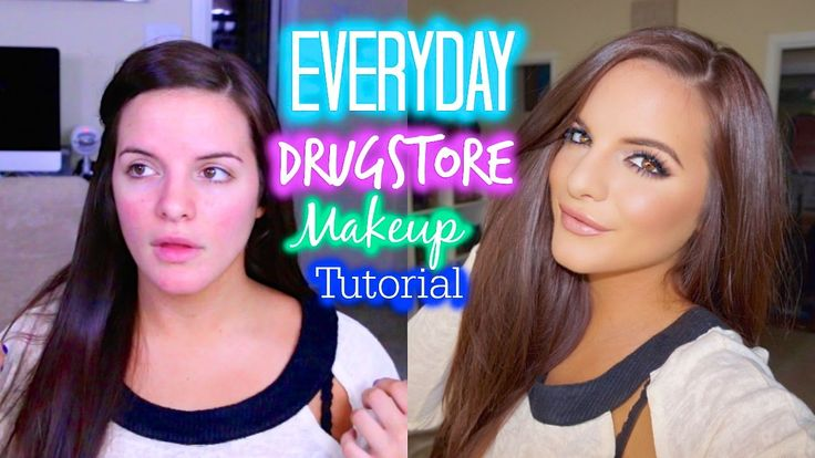 Everyday Makeup Tutorial Using DRUGSTORE MAKEUP | My Favorite Products &...