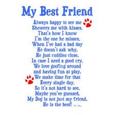 poems about dogs and friendship - Google Search