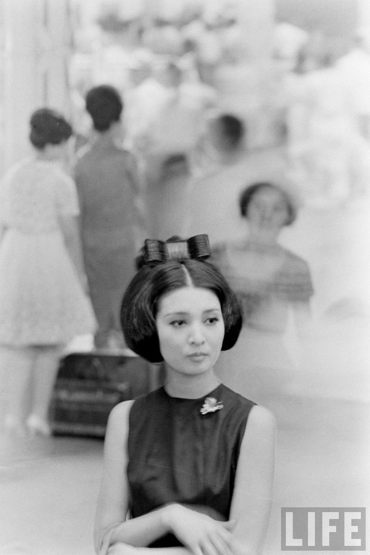 Japanese Girl by Michael Rougier