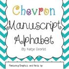 This is a classroom set of chevron alphabet posters for any classroom! ...