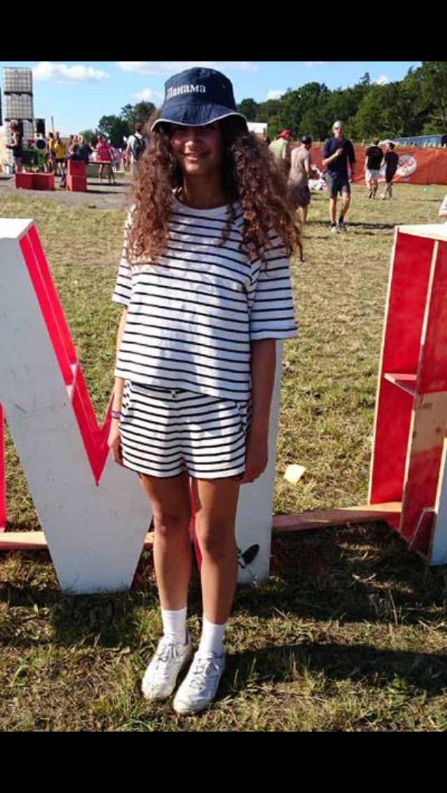 Girl from Roskilde Festival