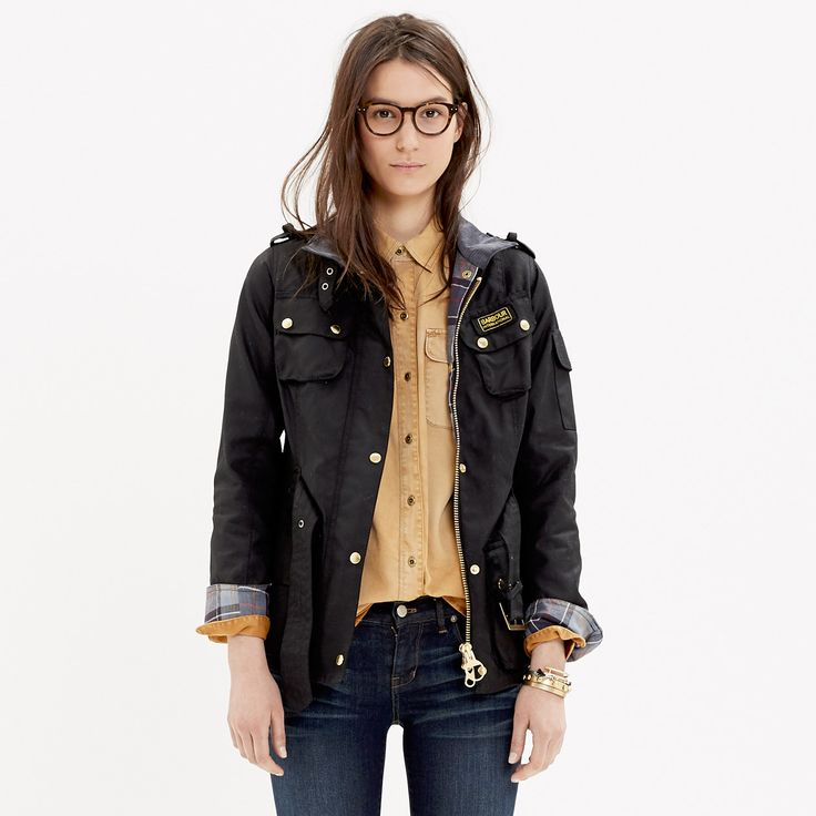 Barbour® International Jacket - jackets - Women's JACKETS & OUTERWEAR - Madewell