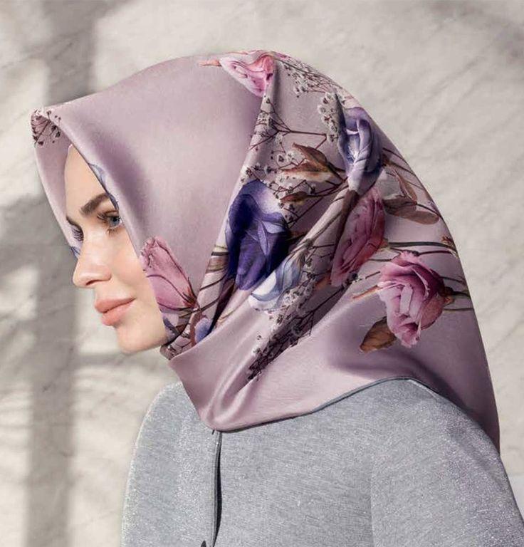 Armine Silk Hijab Spring 2017 #7656