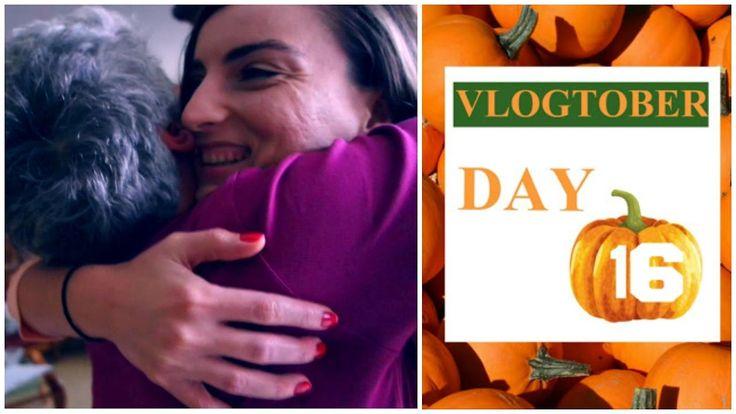 VLOGTOBER DAY16 | ΕΚΠΛΗΞΗ ΣΤΗ ΜΑΜΑ! ||Angie Kariofilli