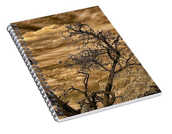 """Grand Canyon Drama In Infrared"" Spiral Notebook for Sale by Norman Gabitzsch, Houston Photographer. #GrandCanyon #NationalParks #SpiralNotebook #Notebooks #TravelDiary #Diary #BattleshipRock #Journal #SchoolSupplies #BackToSchool (scheduled via http://www.tailwindapp.com?utm_source=pinterest&utm_medium=twpin)"