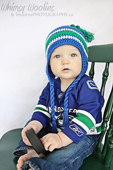 PDF PATTERN Lil' Nuck  Vancouver Canuck's by whimsywoolies on Etsy, $4.99