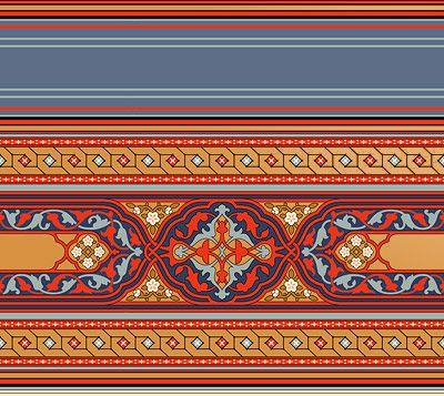 Persian Wallpapers | Ceiling Wallpaper Border | Bradbury