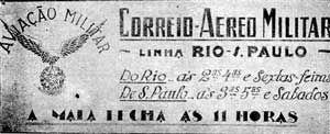 CORREIO AÉREO MILITAR E NAVAL- RESERVAER