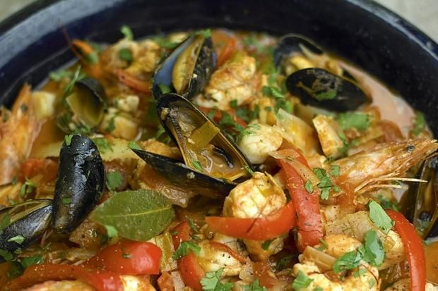 Bouillabaisse recipe by Alex Hollywood (aka Bake Off star Paul Hollywood's wife)