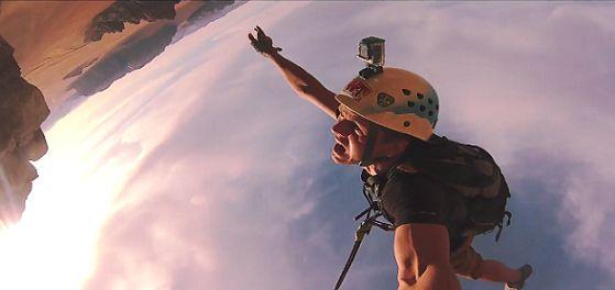 Entérate Cali: Ropejumping saltos increíbles de acantilados en Jordania...