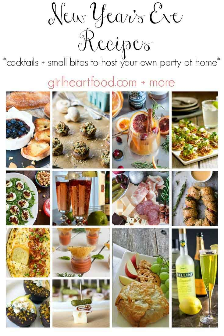 New Year S Eve Recipes Holiday Inspiration Pinterest