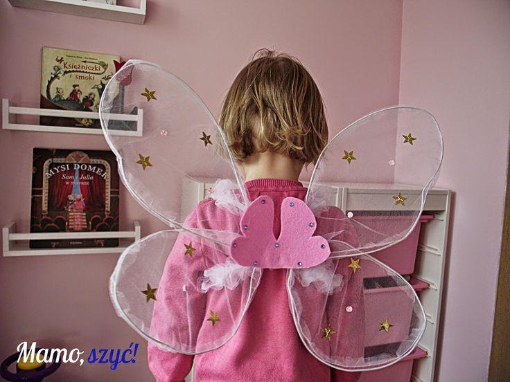 Mamo, szyć!: Motylem jestem. Nowe życie skrzydełek