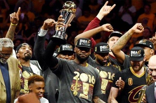Леброн Джеймс выиграл с Кливлендом чемпионский титул НБА 2016 года (ВИДЕО)