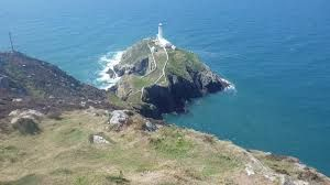 Anglesey Costal Path: Holyhead to Trearddur Bay section which is  truly impressive