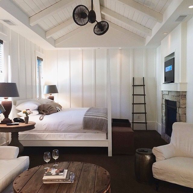 276 best images about bunkie cottage camp rustic on for Modern farmhouse bedroom