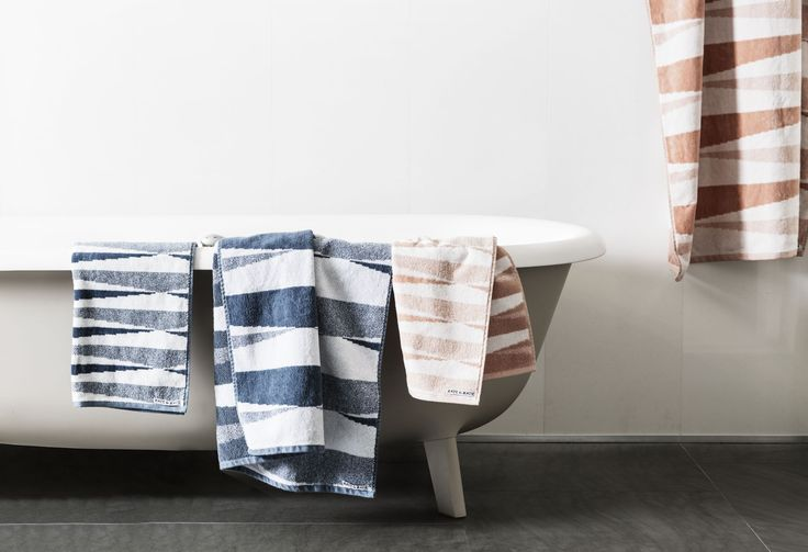 Indie Buoy Bath Sheet Soft. Absorbent. Generous. Kate & Kate bath sheets are all double sided   terry and velour.  Spanish Villa/Snow White - http://kateandkate.com.au/shop/bath-sheets/indie-buoy-large-towel-2/  Blue Mirage/Snow White - http://kateandkate.com.au/shop/bath-sheets/indie-buoy-large-towel/