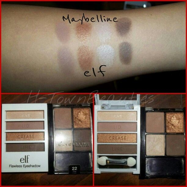 .@Olga Olivero | Here is the #elf palette i used for the browns in my last look and also for m...