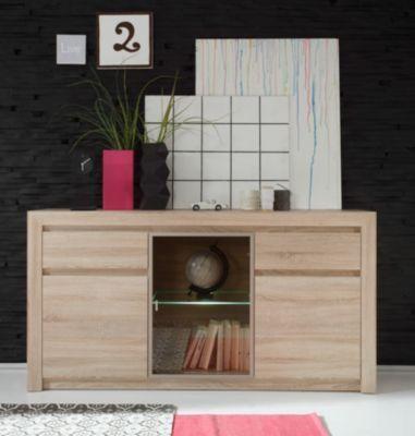 Die besten 25+ Sideboard eiche Ideen auf Pinterest Anrichte - wohnzimmerschrank eiche hell