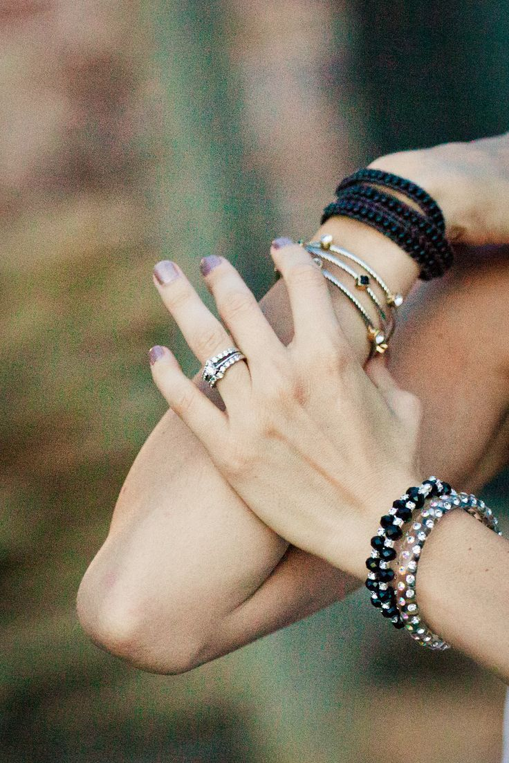 now thin wristed can wear and layer stylish