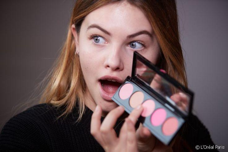 Thylane Blondeau make-up tuto correcteur