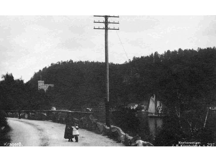Kragerø i Telemark fylke utg Küenholdt