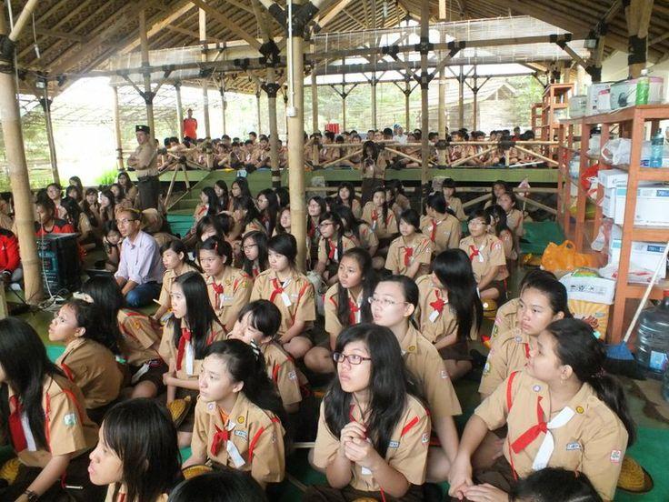 Kegiatan Pramuka di Citra Alam Riverside - Cisarua, Bogor