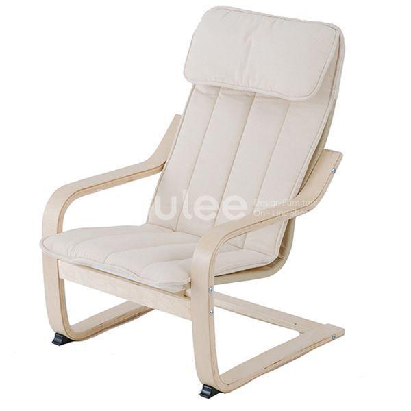 IKEA イケア 。IKEA イケア 子供用アームチェア POANG バーチ材突き板 アルモース ナチュラル 通販 101.579.48