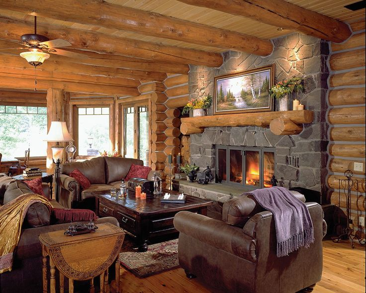 Log Home Interiors73 best Chinking images on Pinterest   Log cabins  Log home  . Log Home Interior Photos. Home Design Ideas
