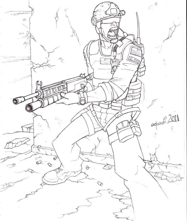 call of duty drawings - Bing images | Coloring pages for ...