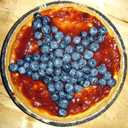 Red, White, and Blueberry Cheesecake Pie Allrecipes.com-I've made one like this a couple years ago and everyone loved it!!