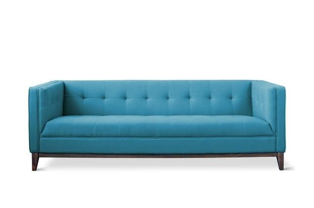 Tailored sofa in Surf fabric
