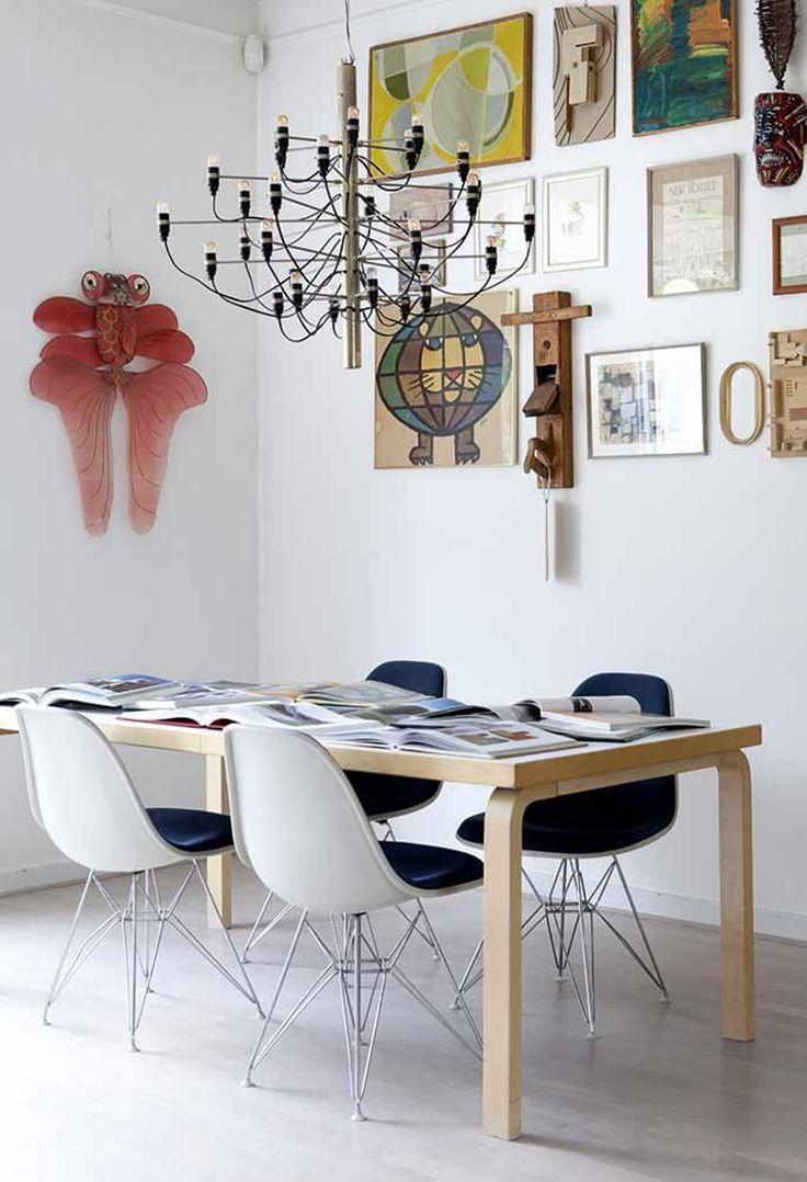 Når efternavnet klinger af møbelhus, må der selvsagt findes en del designklassikere hos Morten Paustian og hans familie.
