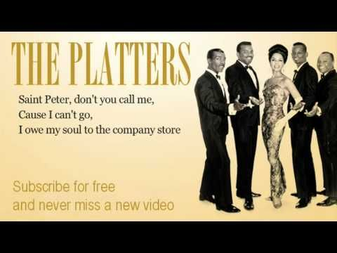 The Platters - Sixteen Tons - Lyrics - YouTube