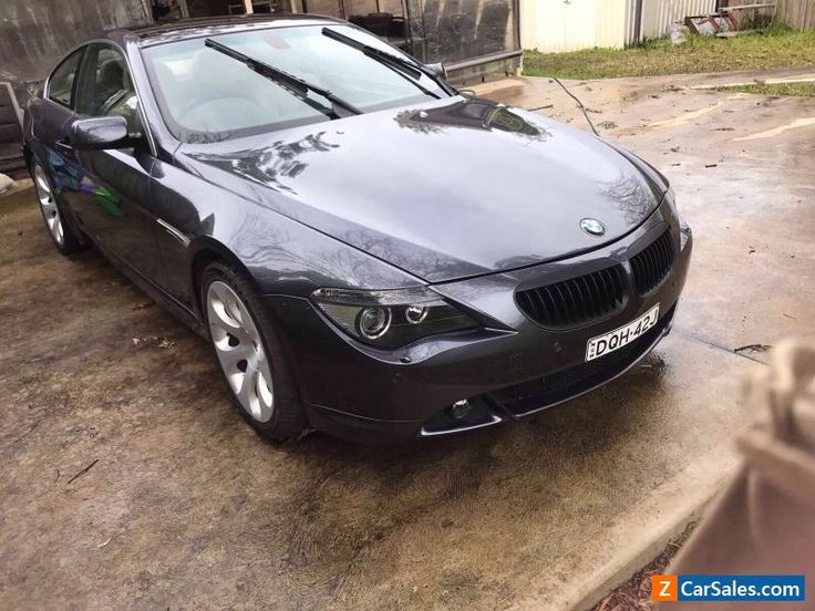 BMW 645CI 10 MONTHS REGO DAMAGED BEEN REPAIRED LOW KLMS CHEAP $12900 #bmw #600series #forsale #australia