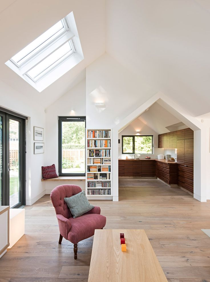 This Oxfordshire house compliments the area's traditional houses but also protects itself from flooding