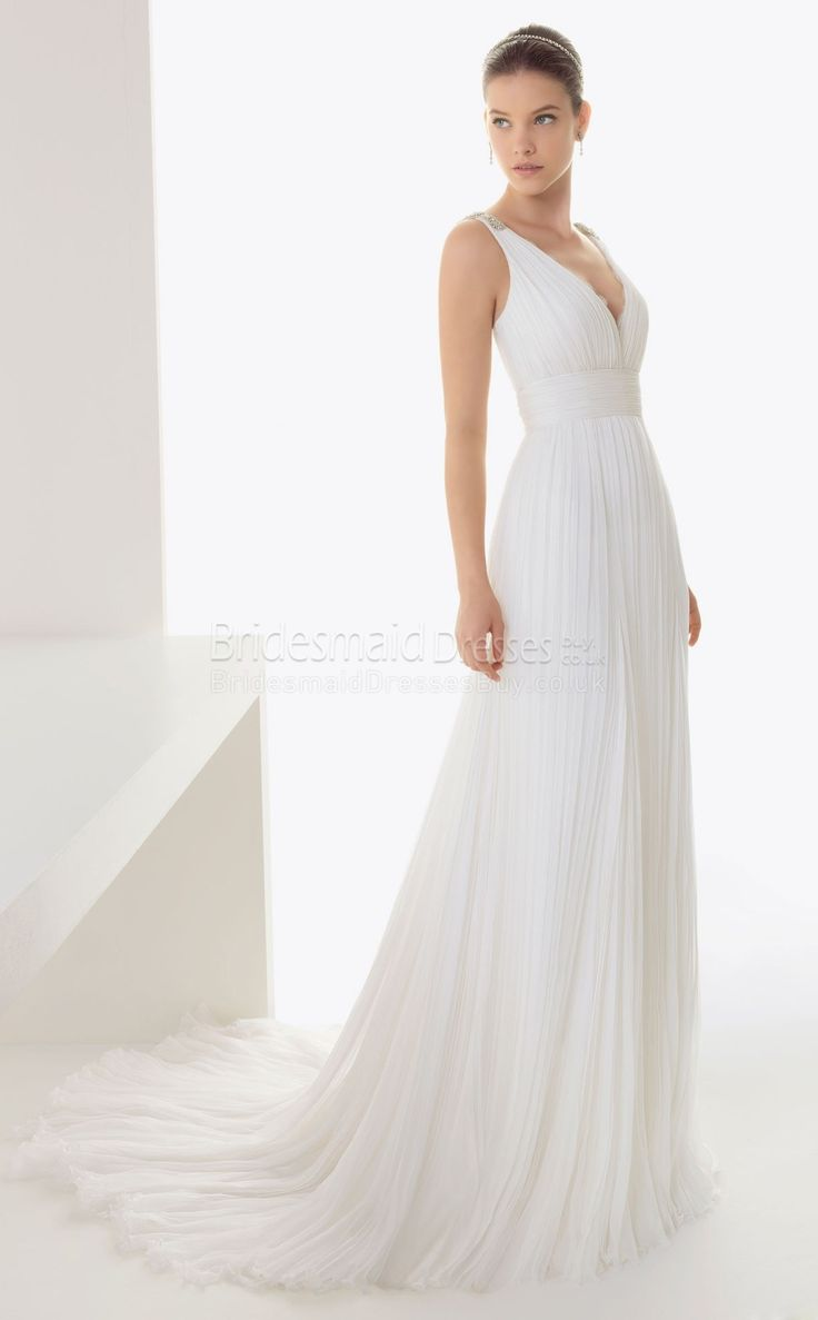 14 best wedding dresses images on pinterest simple weddings rosa clar wedding dress bridal rosa clar 2013 baiona pleated silk bambula gown with beadwork in ecru ombrellifo Image collections