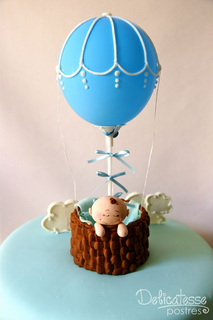 Cake Decorating Hot Air Balloon : 17 Best images about bebes on Pinterest Baby showers ...