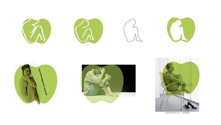 Logo Process – Apple & Eve [nude] Identity Development
