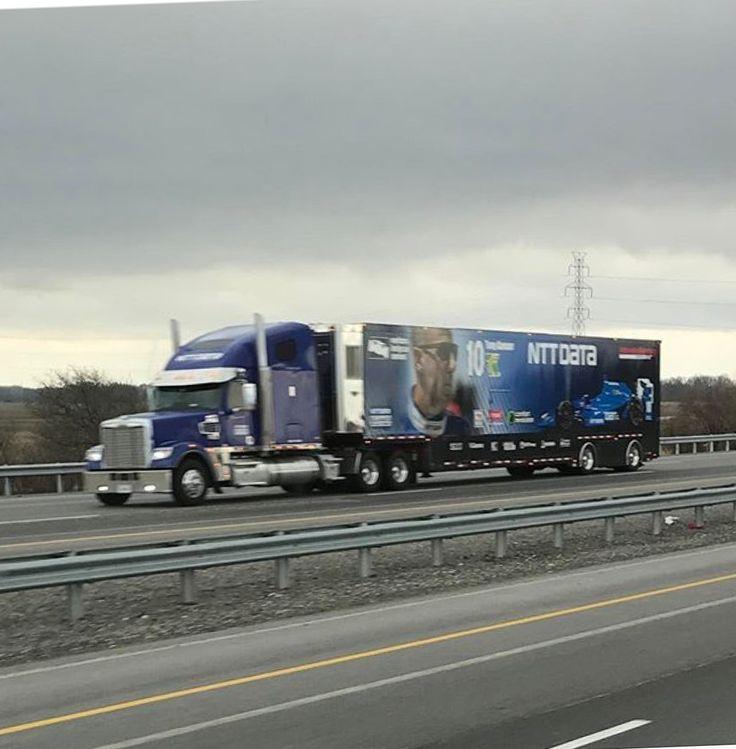 NTT Data, Indy Car, Transporter, Hauler