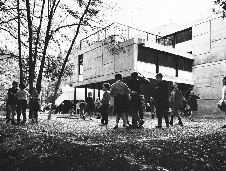 French Primary School, Geneva, Switzerland, 1962 (Candilis, Josic, Woods with Arthur Bugna)