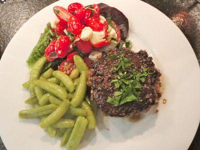 C H E W I N G T H E F A T: Steak Hache, an homage to Joe Allen's Chopped Steak